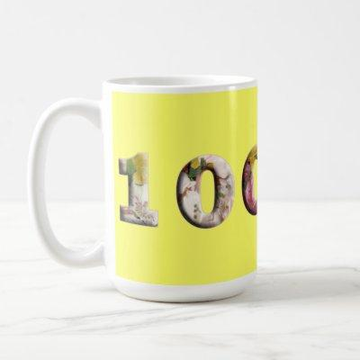 100 Milestone Mug 100th Anniversary Birthday