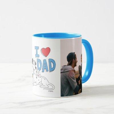 101 Dalmations - I Love Dad Photo Mug