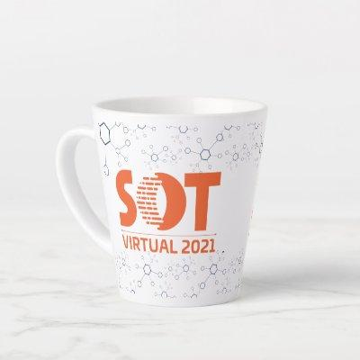 12 oz Latte Mug - 2021 Annual Meeting (Molecule)