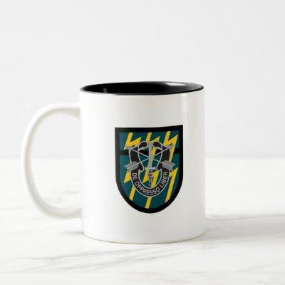12th Special Forces Group (12th SFG) Two-Tone Coffee Mug