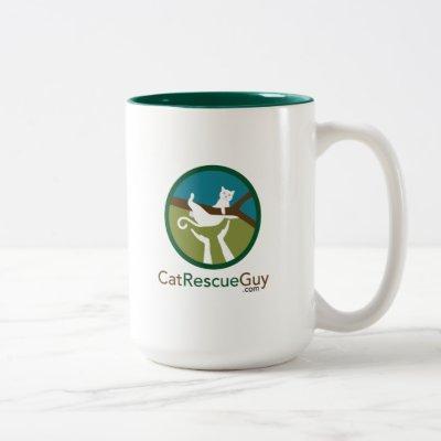 15 oz logo front and back Two-Tone coffee mug
