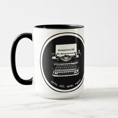 15oz Black/black Mug