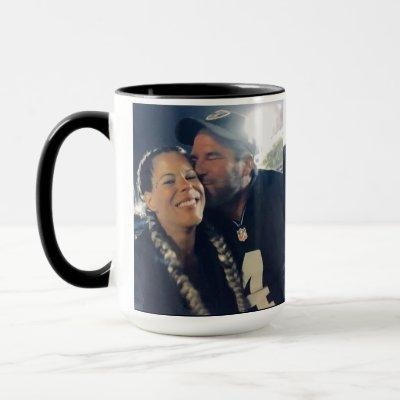 15oz Combo Custom Raiders Photo Mug By Zazz_it