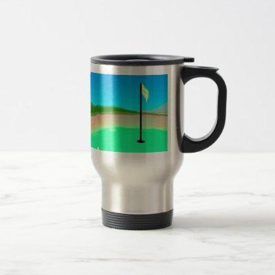 18th Hole Travel Mug