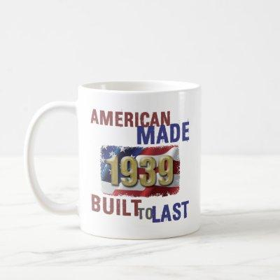 1939 American Made Coffee Mug