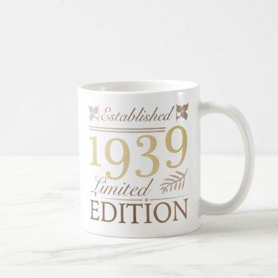 1939 Birthday For Women Coffee Mug