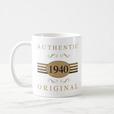1940 Original 80th Birthday Coffee Mug