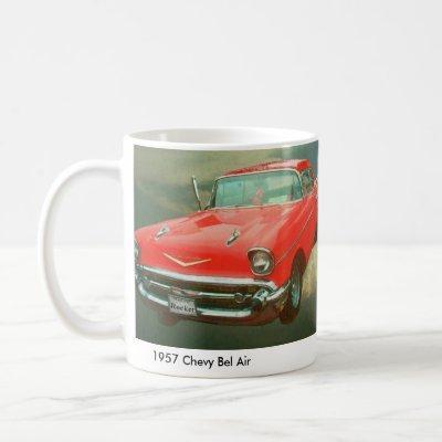 1957 Chevy Bel Air Coffee Mug