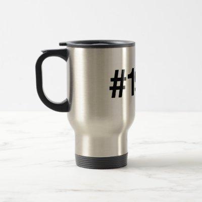 1981 Hashtag Travel Mug