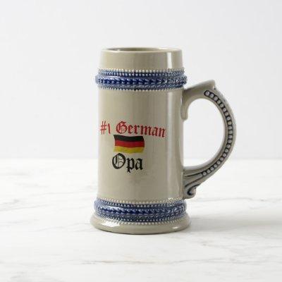 #1 German Opa Beer Stein