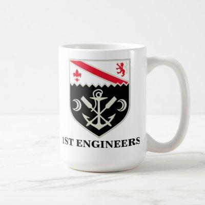 1st Engineer Battalion Mug