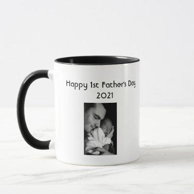 1st Father's Day Coffee Mug