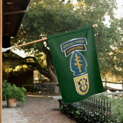 1st Special Forces Group  House Flag