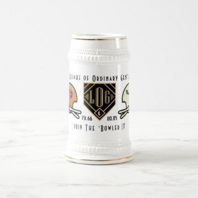 2019 Gents FF Bowler IV Beer Stein