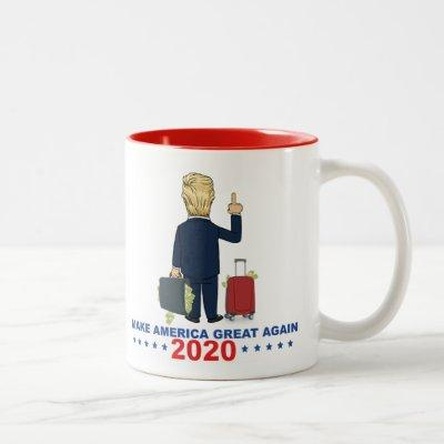 "2020  Donald Trump  ""MAKE AMERICA GREAT AGAIN"" Two-Tone Coffee Mug"