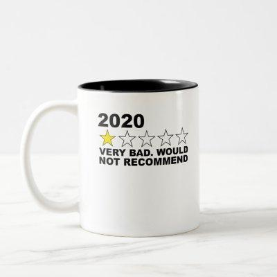 2020 One Star - Very Bad. Would Not Recommend Funn Two-Tone Coffee Mug
