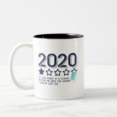 2020 Review Not Recommended Two-Tone Coffee Mug