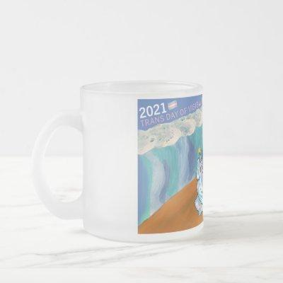 2021 Convening Frosted Glass Coffee Mug