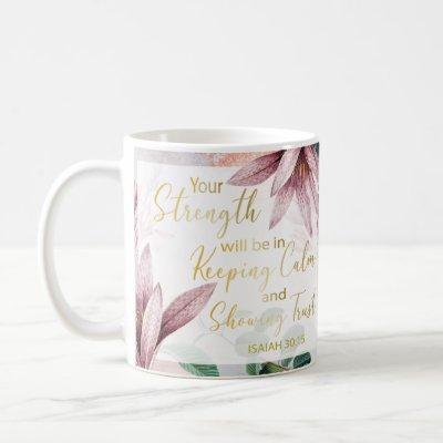 2021 JW Year Text - Keep Calm and Show Trust Mug