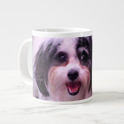 20 oz. Jumbo Mug with Dog photo