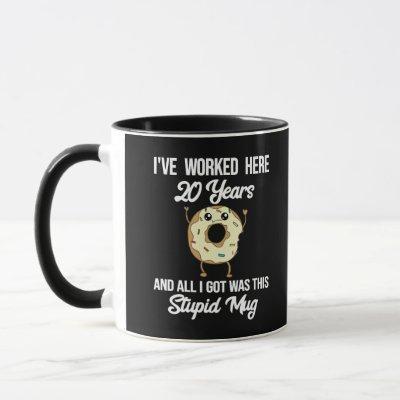 20 Year Work Anniversary Appreciation Mug