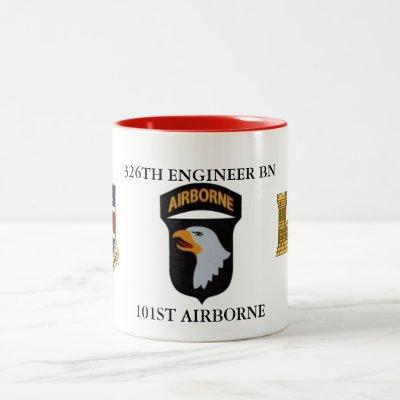326TH ENGINEER BN 101ST AIRBORNE MUG