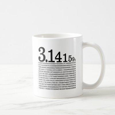 3.1415926 Pi Coffee Mug