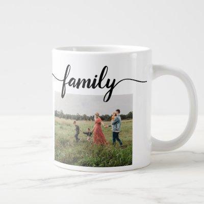 3 Photo FAMILY Mug