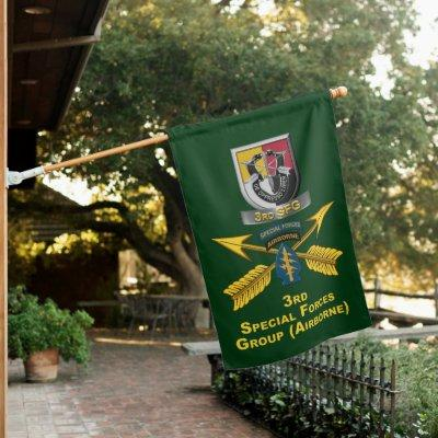 3rd Special Forces Group  House Flag