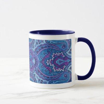 4 Paisley Mug
