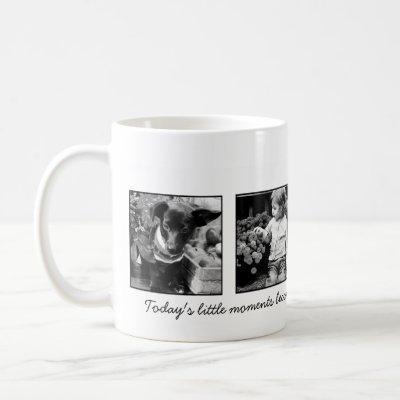 4-Photo Template Personalized Coffee Mug