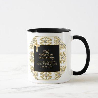 50th PRIEST Ordination Anniversary Personalized Mug