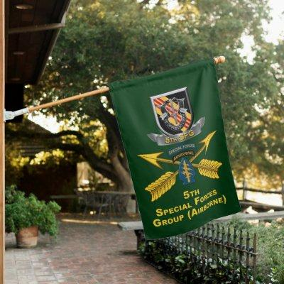 5th Special Forces Group Airborne House Flag