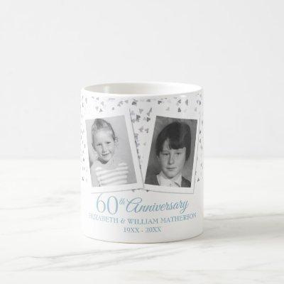 60th Wedding Anniversary Child Photos Fun  Coffee Mug