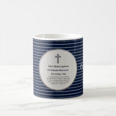 65th Ordination Anniversary Sapphire - ANY CLERGY Coffee Mug