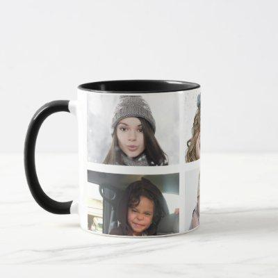 6 Photos Photo Personalized Pictures Mug