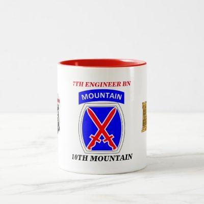 7TH ENGINEER BATTALION 10TH MOUNTAIN MUG