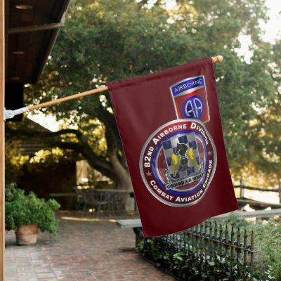 82nd Airborne Division Combat Aviation Brigade Hou House Flag