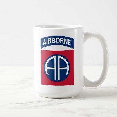 82nd Airborne Division Insignia Military Veteran Coffee Mug