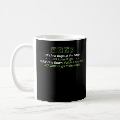 99 Little Bugs In The Code Programmer Coding Coffee Mug