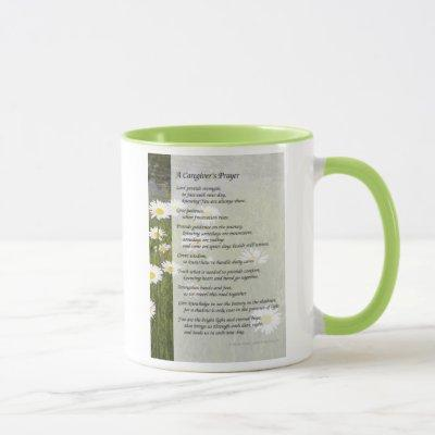 A Caregiver's Prayer - Mug