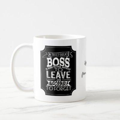 A truly Great boss Mug