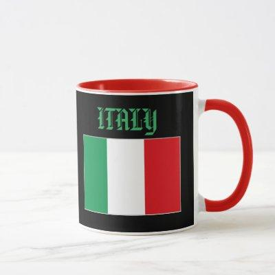 Abruzzo, Italy Crest Custom Mug
