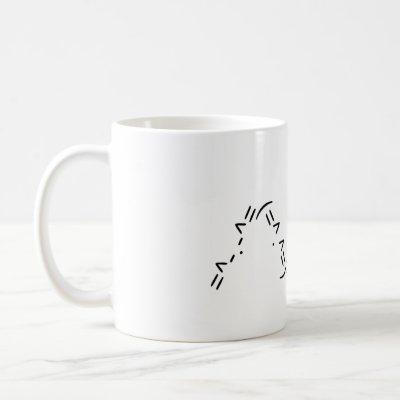 Acii Cat Ear Mug