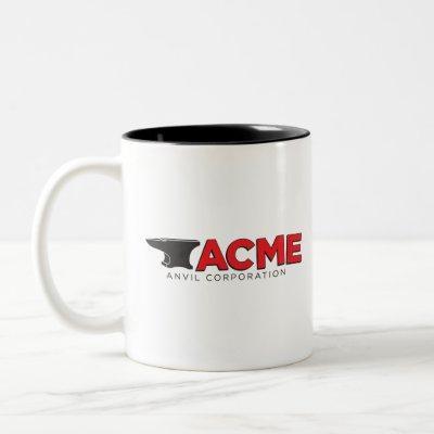 ACME ANVIL CORPORATION Two-Tone COFFEE MUG