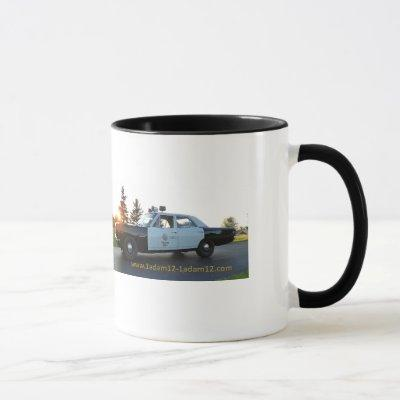 Adam-12 car Mug