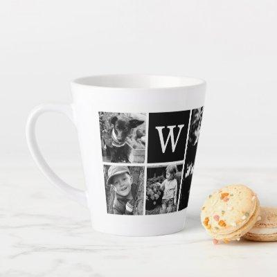 Add Your Own - 4 Photo Gallery Latte Mug