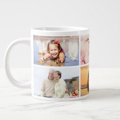 Add Your Own  6 Photo Coffee Mug