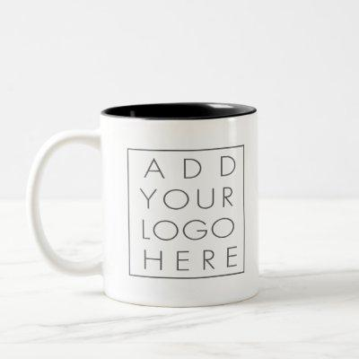 Add your own logo company promotional products Two-Tone coffee mug