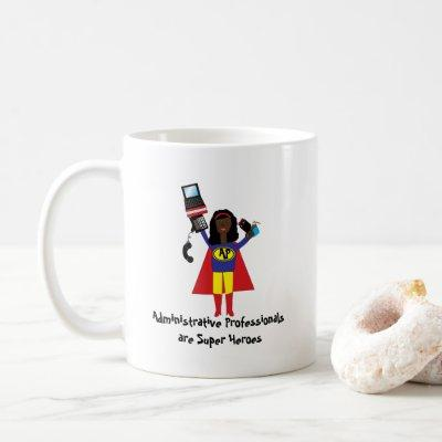 Administrative Assistant Hero Personalize Coffee Mug